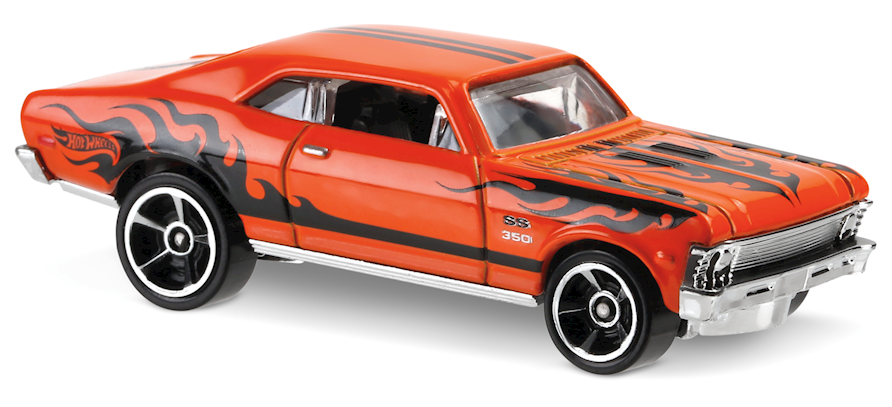 '68 Chevy Nova - Hot Wheels