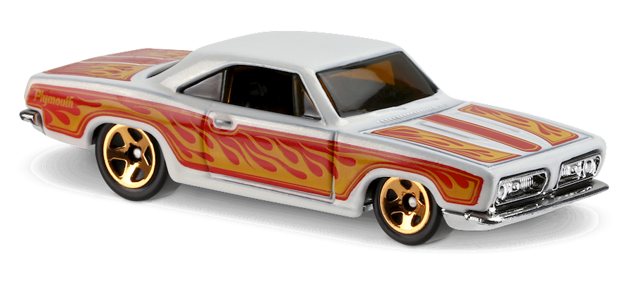 '68 Plymouth Barracuda Formula S - Hot Wheels