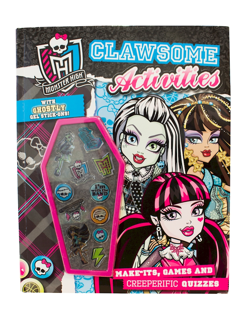 Uncategorized Monster High Activity Book monster activity book with covermount shop high doll accessories playsets toys monster