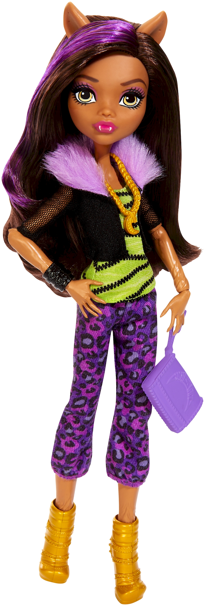 Monster High Todschicke Monsterschulerin Clawdeen