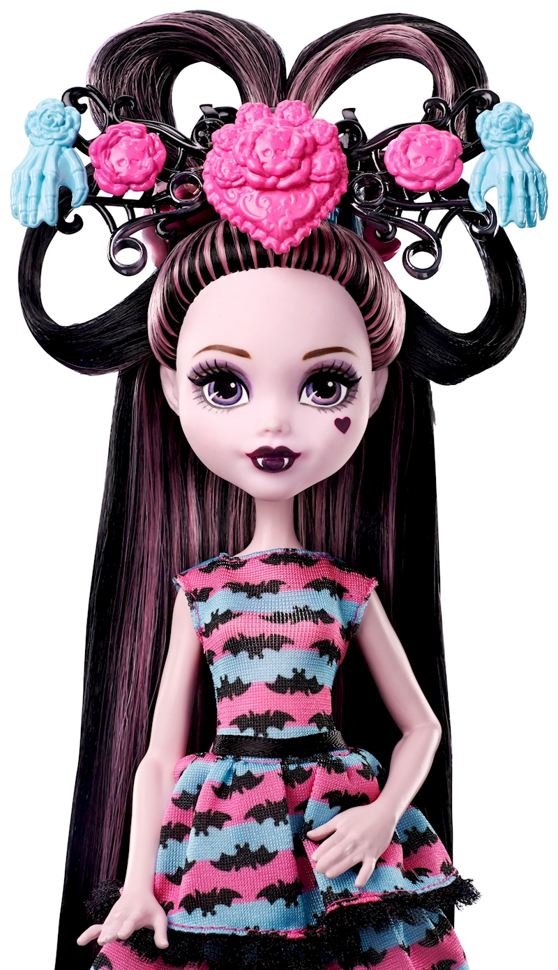 Uncategorized Monster High Draculaura monster doll with ultra long hair and accessories shop high dol