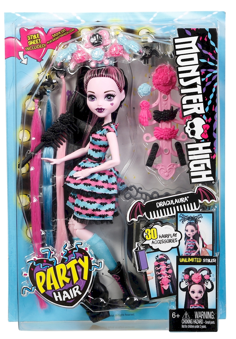 Monster High Draculaura Doll With Ultra Long Hair And