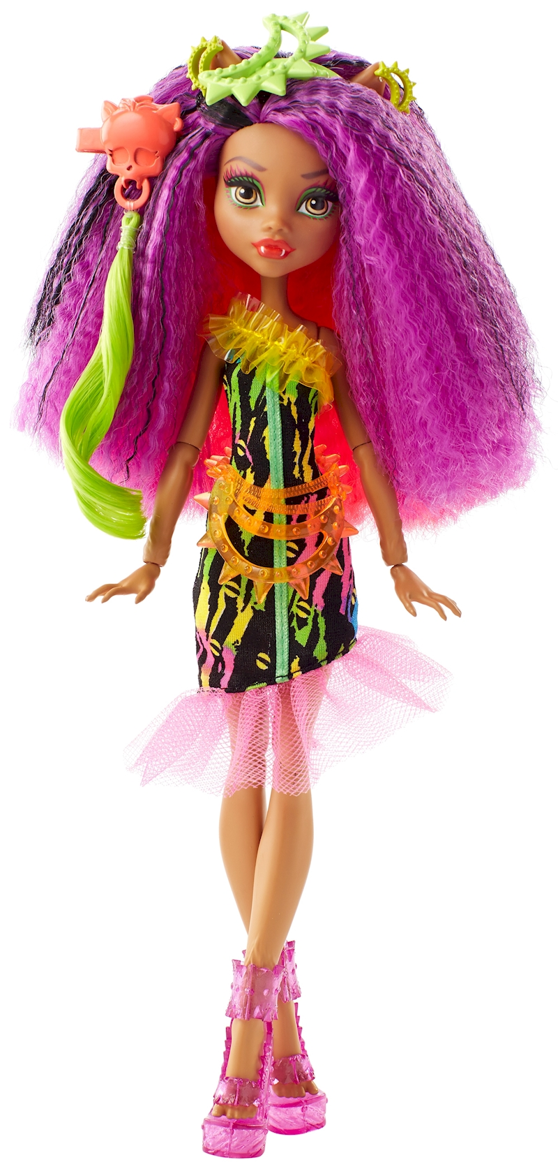 Monster High Electrified Hairstyling Clawdeen Wolf Doll Shop