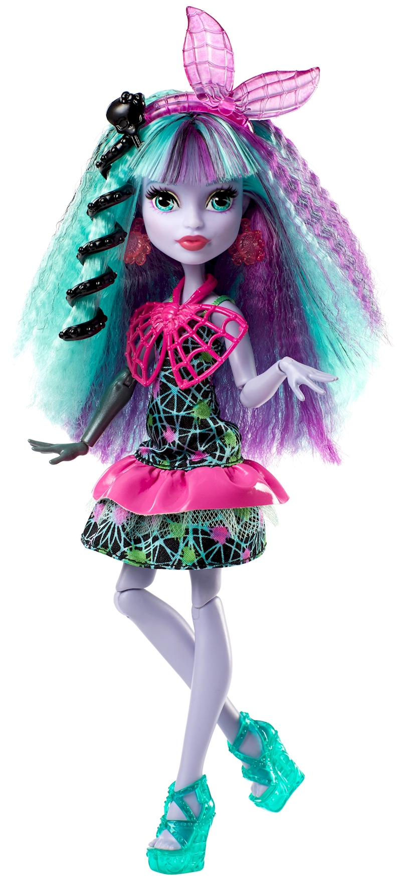 Monster High Electrified Hairstyling Twyla Doll Shop