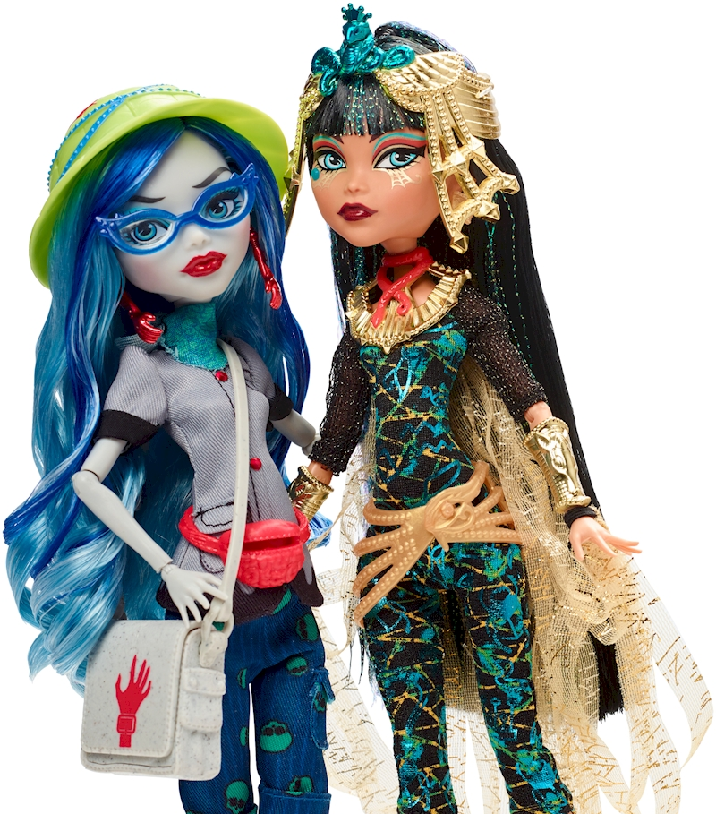monster high u00ae cleo de nile u00ae   ghoulia yelps u00ae 2 pack shop