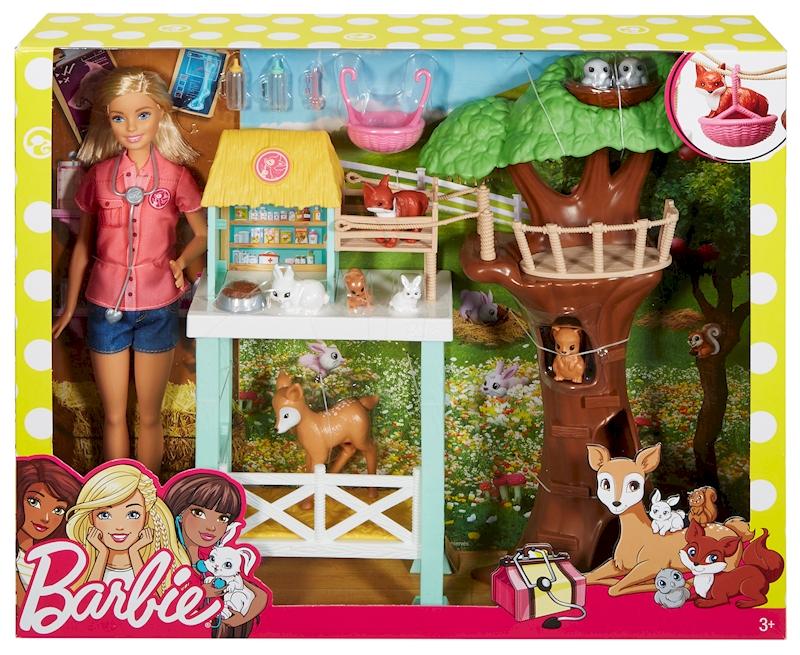 barbie animal rescuer doll playset - Barbie Fe