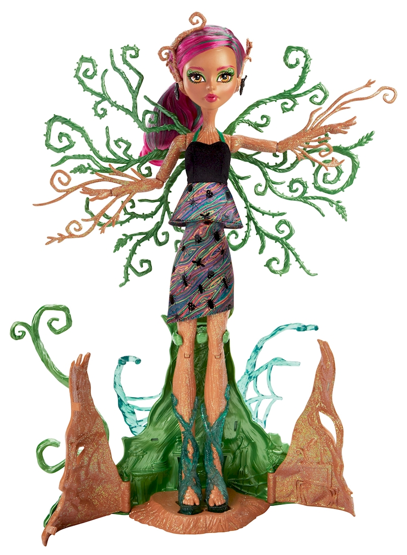 Garden Ghouls™ Treesa Thornwillow™ Tree Monster Doll ...