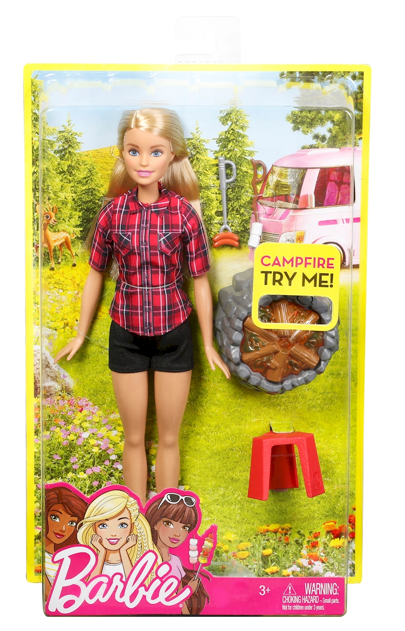 barbie sis campfire doll - Barbie Fe