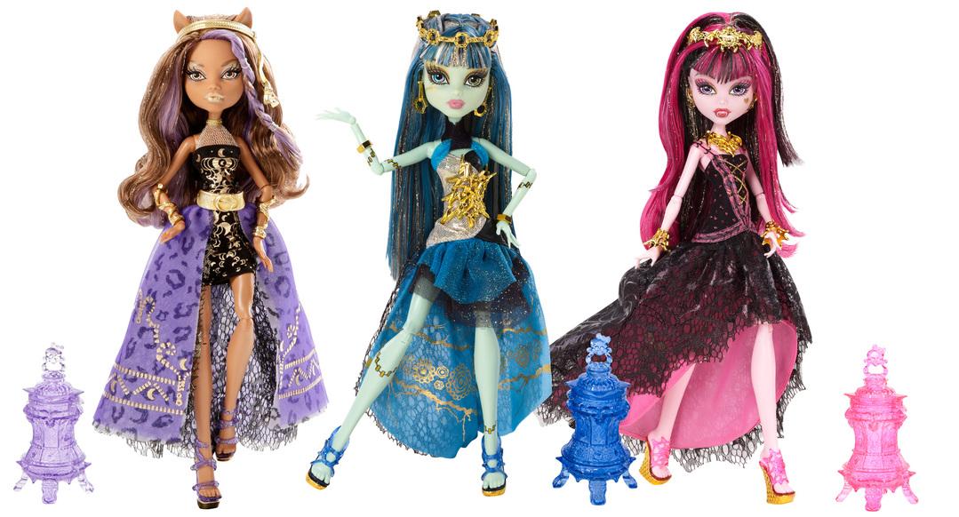 Monster High 13 Wunsche Puppen Sortiment 4