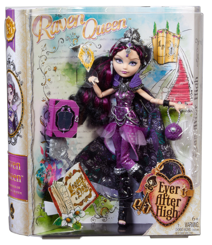 EVER AFTER HIGH™ Legacy Day™ Raven Queen™ Doll - Shop Ever ...