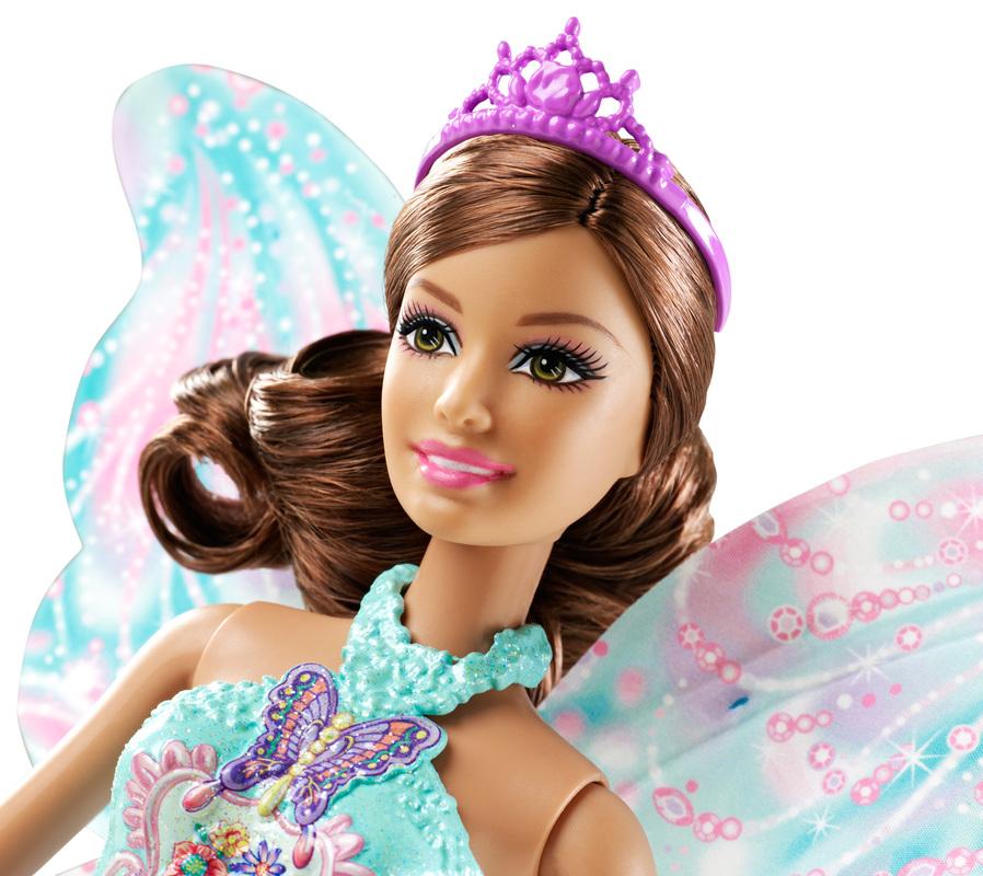barbie fee scintillante brune