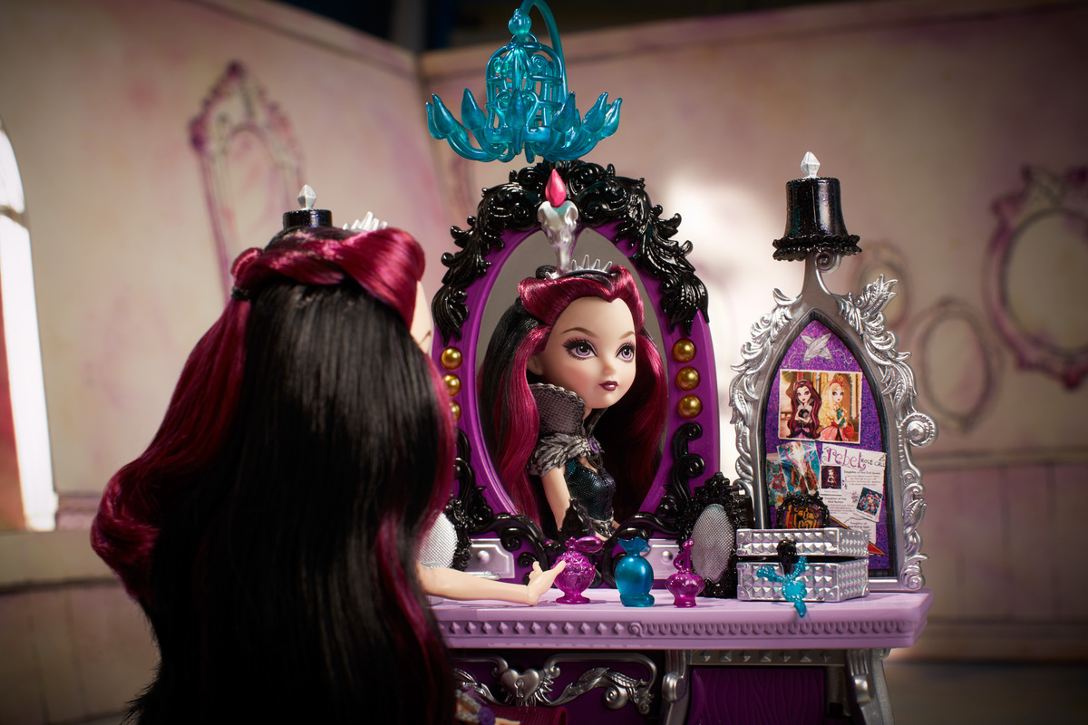 how to make a ever after high bedroom