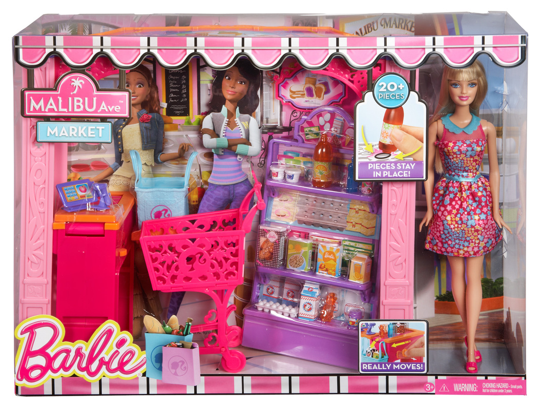 barbie life in the dreamhouse shopping