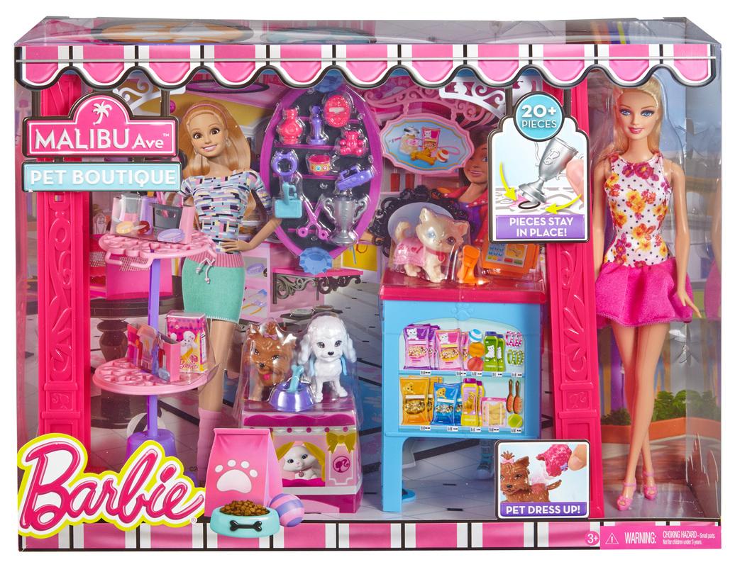 Barbie 174 Malibu Ave Pet Boutique Doll
