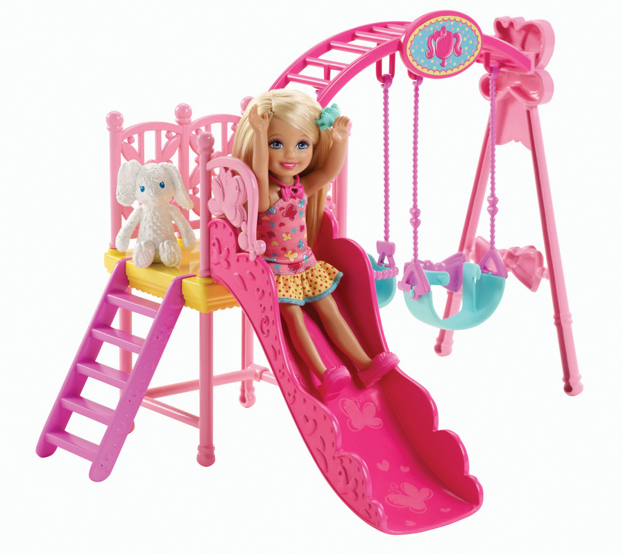 . Barbie  Chelsea  Swing Set