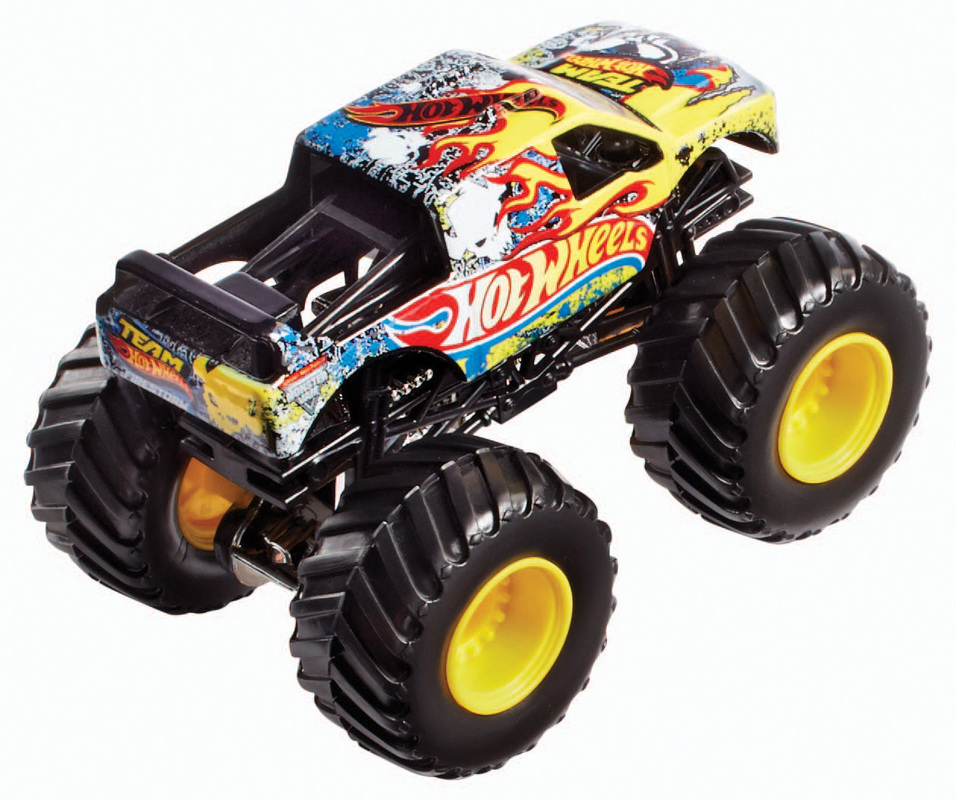 hot wheels monster jam maximum destruction battle trackset shop hot wheels cars trucks race. Black Bedroom Furniture Sets. Home Design Ideas