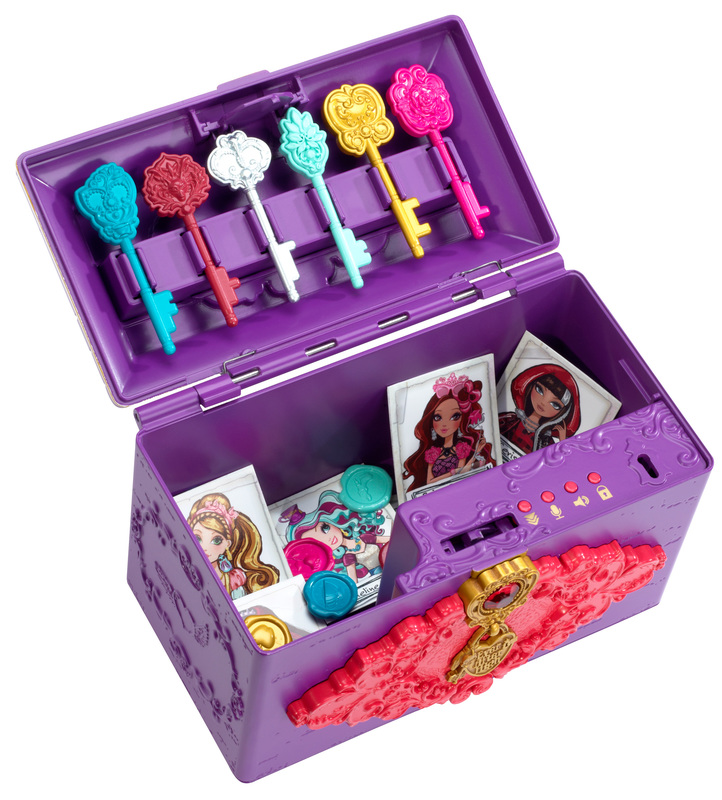 Ever After High Toy Box : Ever after high™ spellbinding secret chest™ shop
