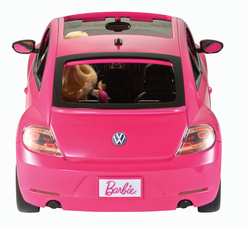 barbie volkswagen beetle and doll. Black Bedroom Furniture Sets. Home Design Ideas