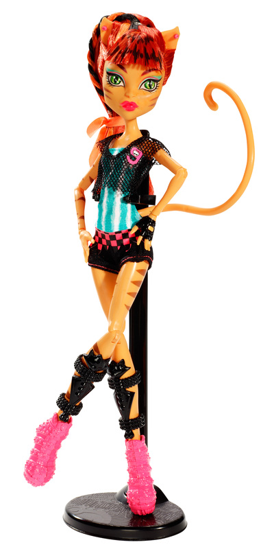 MONSTER HIGH Ghoul Sports Toralei Doll  Shop Monster High Doll