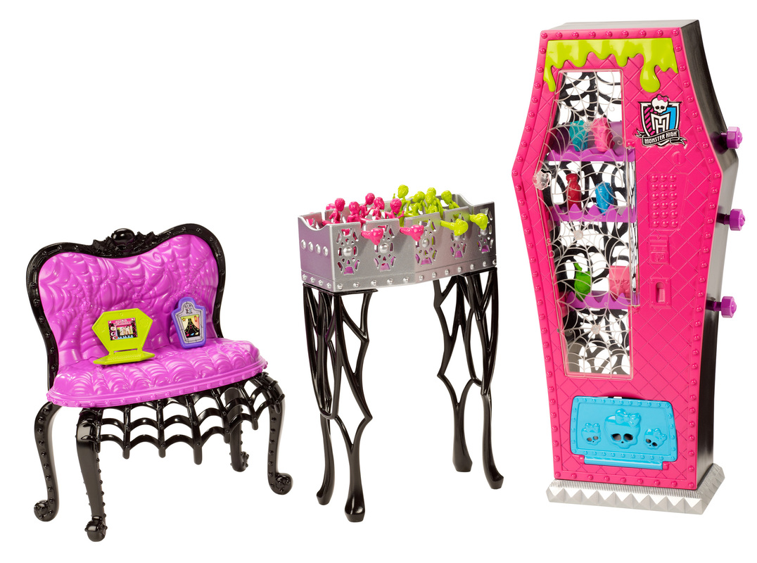 MONSTER HIGH® Student Lounge - Shop Monster High Doll Accessories Playsets u0026 Toys | Monster High  sc 1 st  Monster High : monster high table and chairs - Cheerinfomania.Com