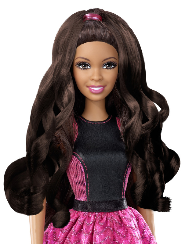 Barbie 174 Endless Curls Doll African American