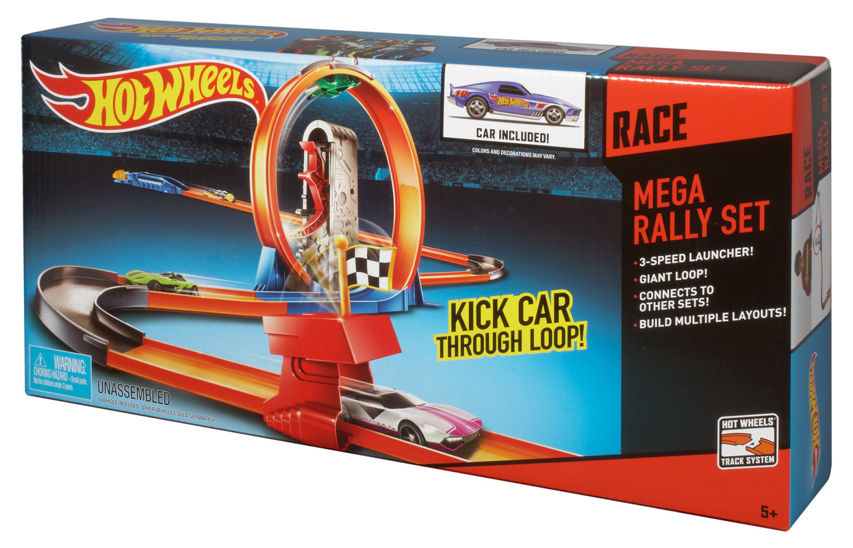 hot wheels mega race track set shop hot wheels cars trucks race tracks hot wheels. Black Bedroom Furniture Sets. Home Design Ideas