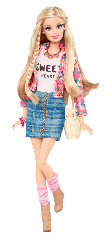 Barbie Style Sweetheart Fashion Doll