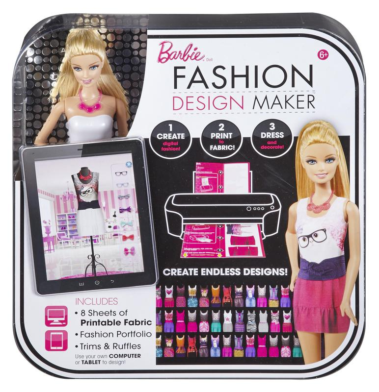 Barbie Fashion Design Maker Game