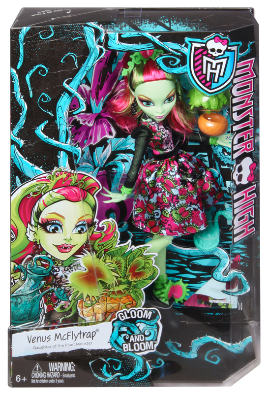 Monster High Gloom and Bloom Venus Mcflytrap Doll  Shop