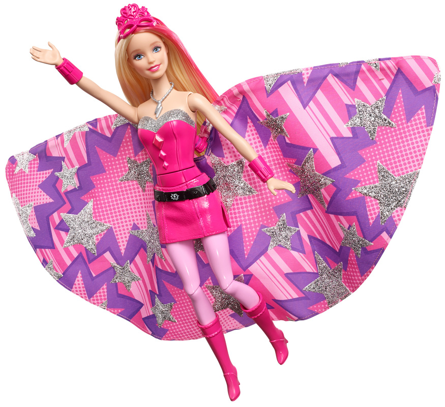 Barbie in princess power transforming super sparkle doll - Supercasa de barbie ...