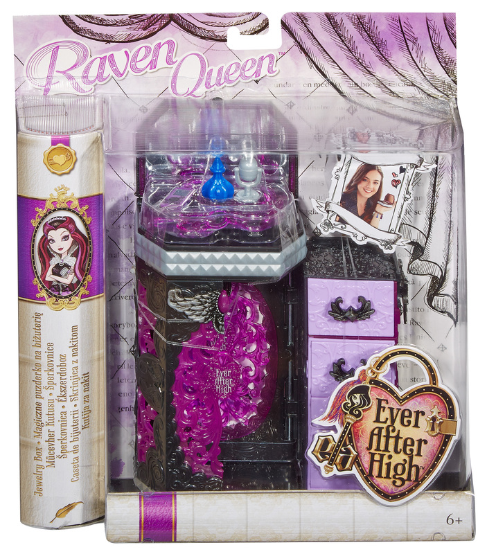 Ever After High Toy Box : Ever after high™ raven queen s™ jewelry box shop