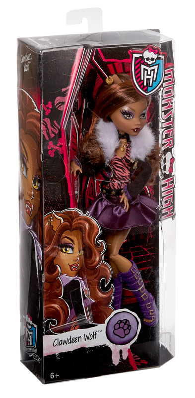 Original Ghouls Collection Clawdeen Wolf Doll Shop Monster High Doll Accessories Playsets Toys Monster High