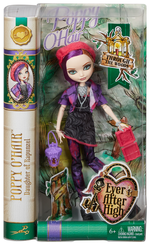 Ever After High Through The Woods Poppy O'Hair Doll - Shop ...