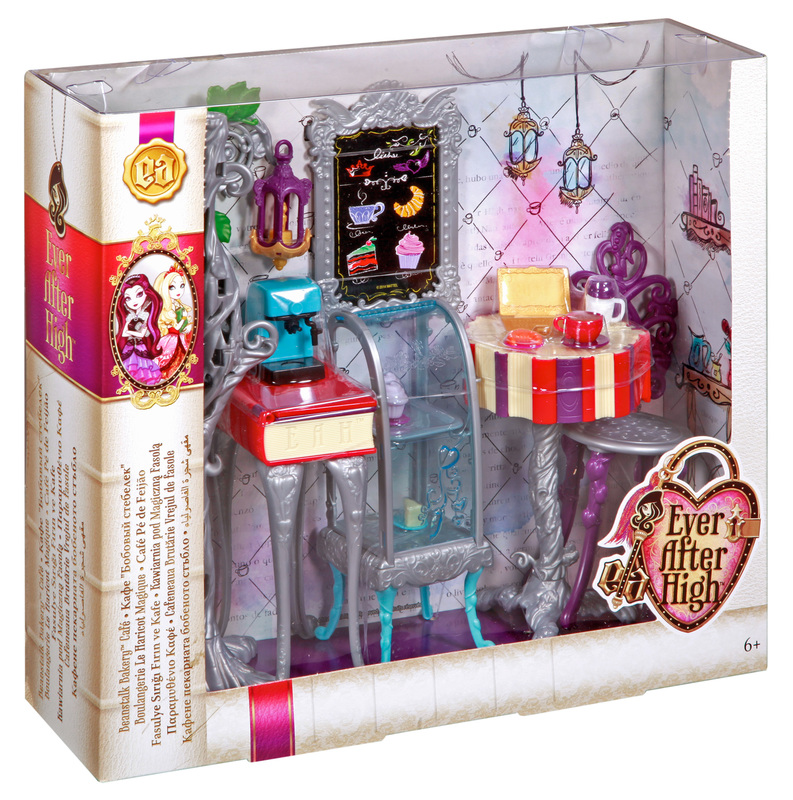 Ever After High Toy Box : Ever after high book end hangout beanstalk bakery shop