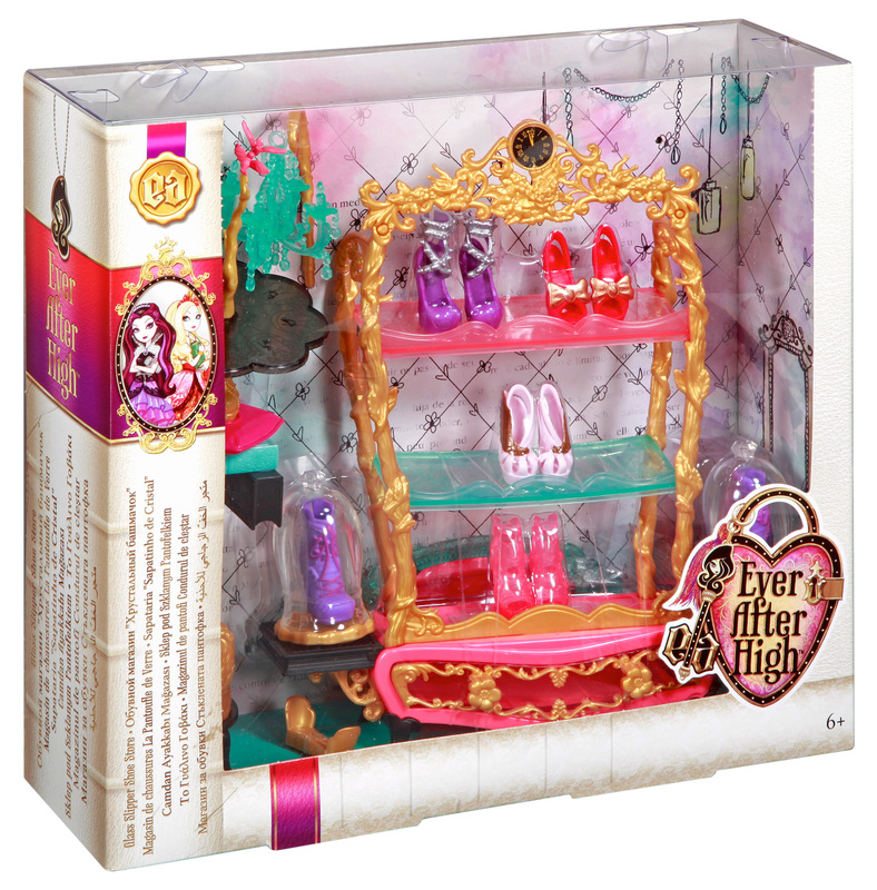 Ever After High Toy Box : Ever after high book end hangout glass slipper shop