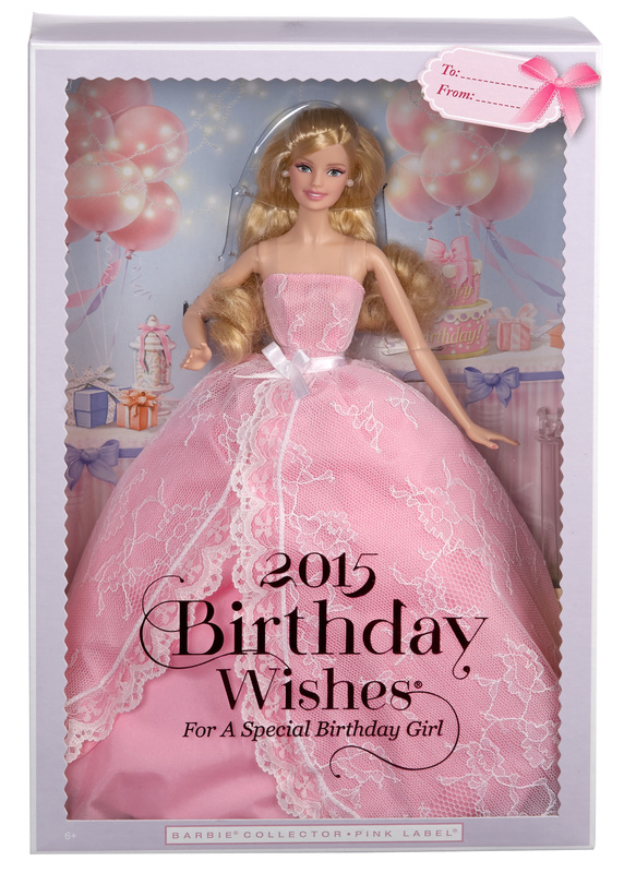 BARBIE COLLECTOR 2015 BIRTHDAY WISHES | Games World