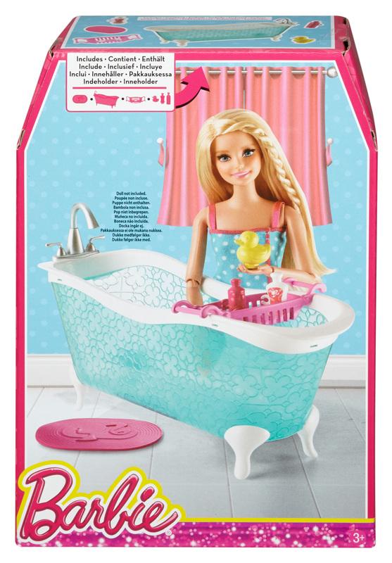 Lovely + Additional Images. Item #: CFG69. Barbie® Bathtub Set