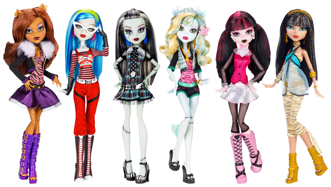 Monster High™ Original Ghoul Collections™ Doll 6-Pack ...
