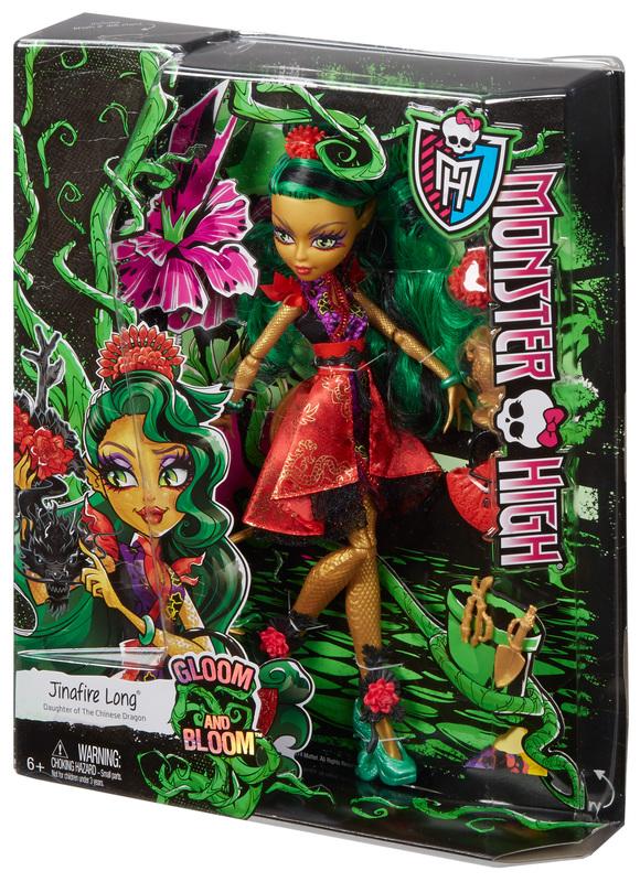 Monster High Gloom and Bloom Jinafire Long Doll  Shop Monster