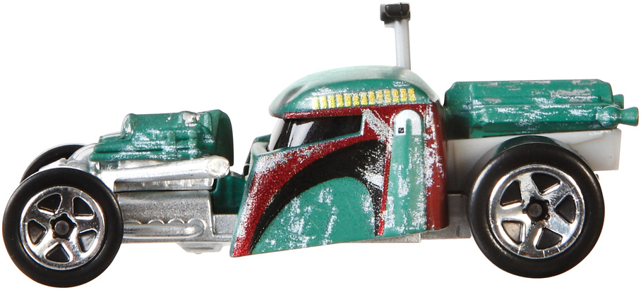 hot wheels star wars boba fett character car shop hot wheels cars trucks race tracks. Black Bedroom Furniture Sets. Home Design Ideas