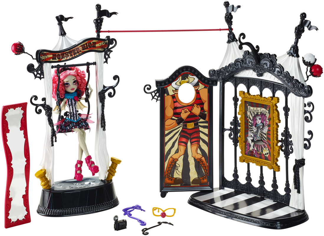 monster high circus wolf