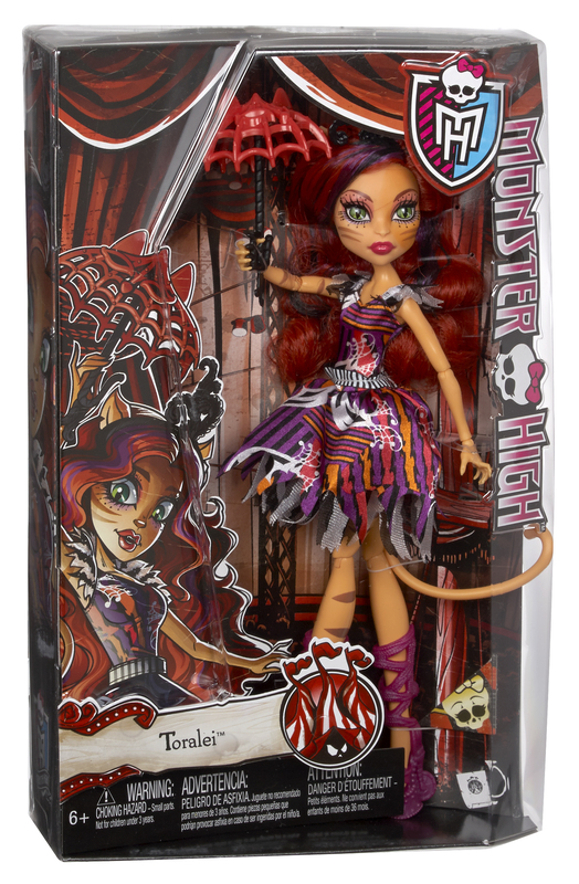 Monster High Freak Du Chic Toralei Doll  Shop Monster High