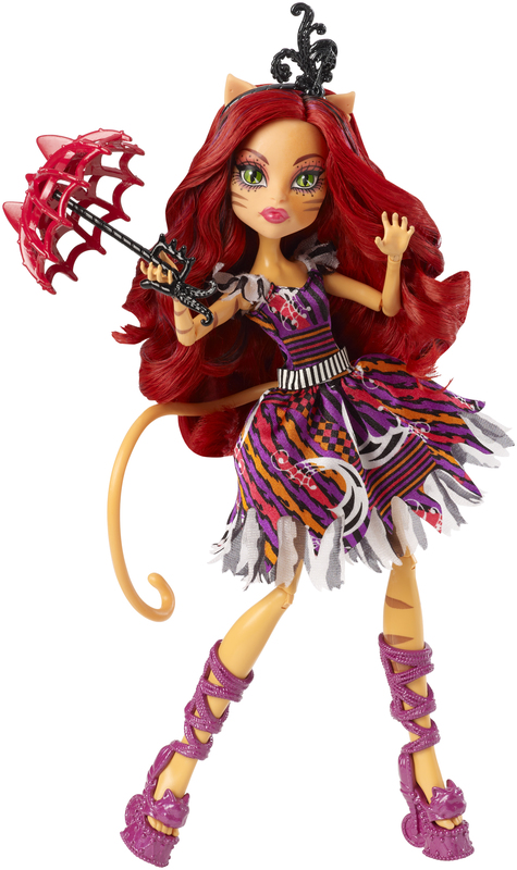 Monster high freak du chic toralei doll shop monster - Monster high toralei ...