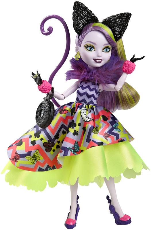 Ever After High Toys R Us : Poupée mannequin kitty cheshire wonderland shop ever