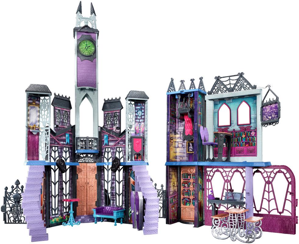 Monster High Deadluxe High School Play Set Shop Monster High