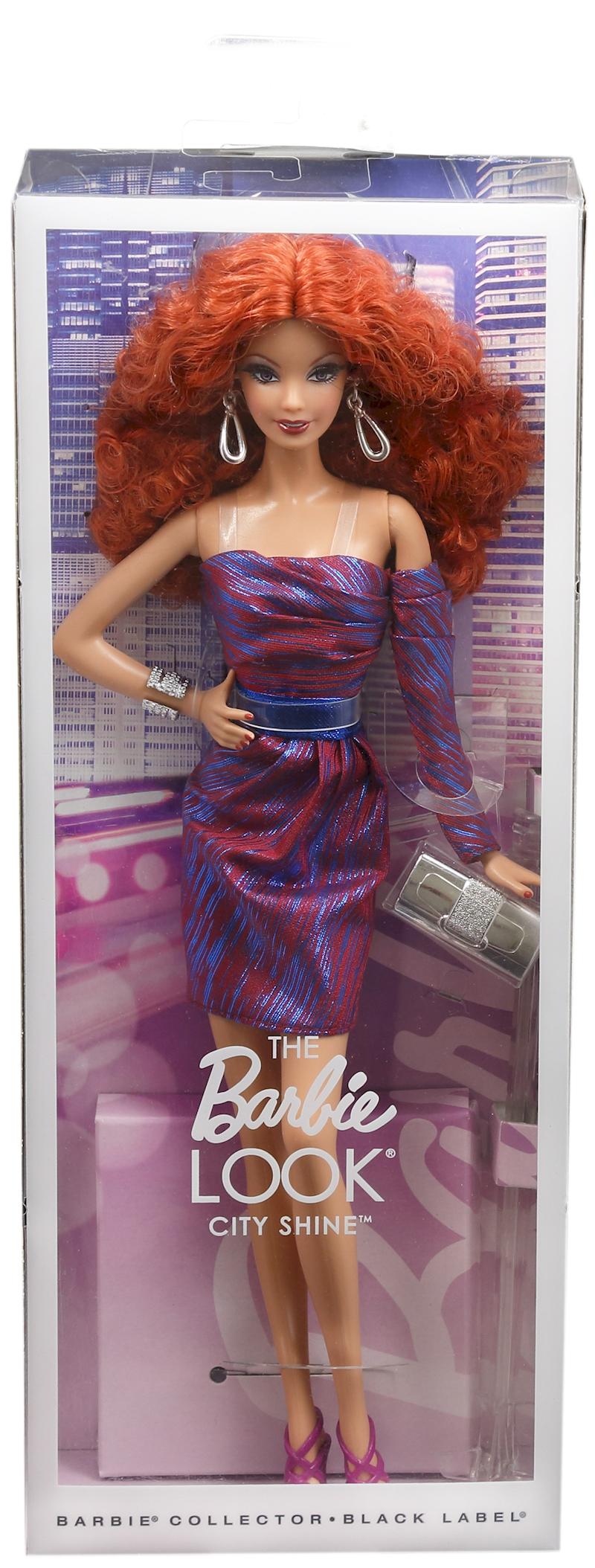 the barbie look city shine barbie doll redhead - Barbie Fe
