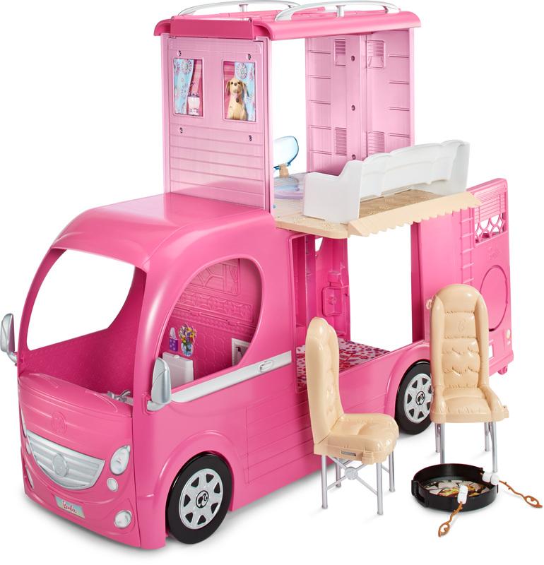 Barbie campingbil