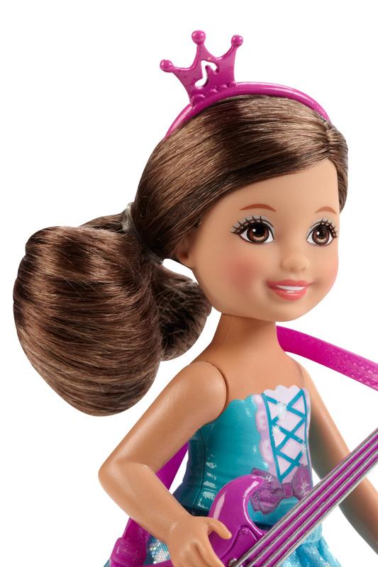 Barbie Rock n Royals Purple Pop Star