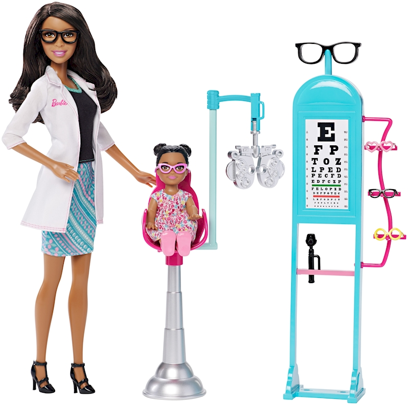 Barbie 174 Careers Eye Doctor African American