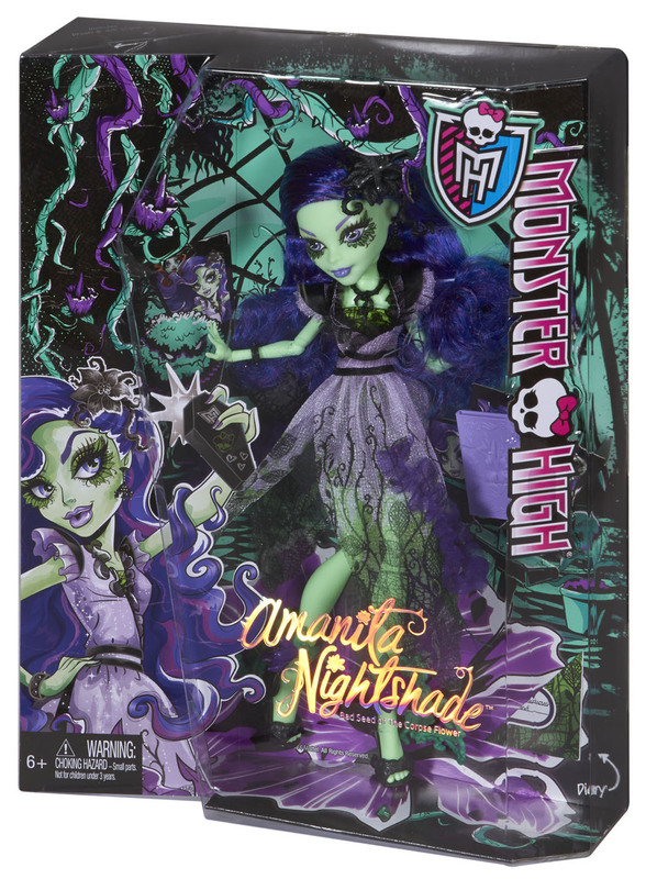 Gloom And Bloom Amanita Nightshade Doll Shop Monster High Doll Accessories Playsets Toys Monster High